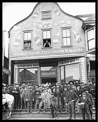 History of the Jews in Alaska - The Earps' saloon, The Dexter, in Nome