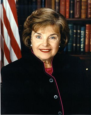 United States Senate election in California, 1994 - Image: Dianne Feinstein congressional portrait