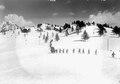 Die Soldaten beim Abstieg nach den Schneeräumarbeiten - CH-BAR - 3239540.tiff