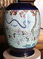 Dinastia qing, vaso di famiglia rosa con drago e i cento bambini, 1850 ca.jpg
