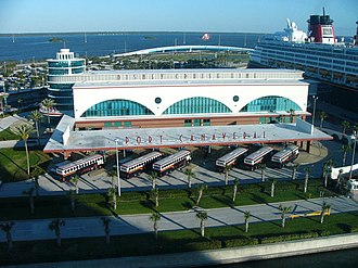 Disney Cruise Line - Disney Cruise line terminal in Port Canaveral.