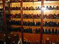 Display of men's shoes at John Lobb, bespoke shoe and bootmaker, 88 Jermyn Street, London.jpg