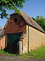 Distinctive brickwork on a barn in Claydon - geograph.org.uk - 714462.jpg