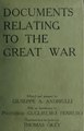 Documents relating to the great war (IA documentsrelatin00andr).pdf