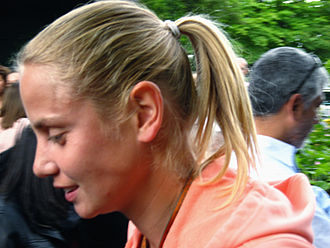 Jelena Dokic - Dokic at the 2009 French Open