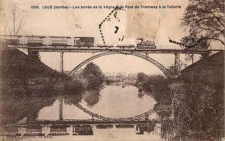 Loué Commune in Pays de la Loire, France