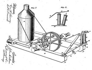 Steam donkey - Image: Dolbeer patent 1