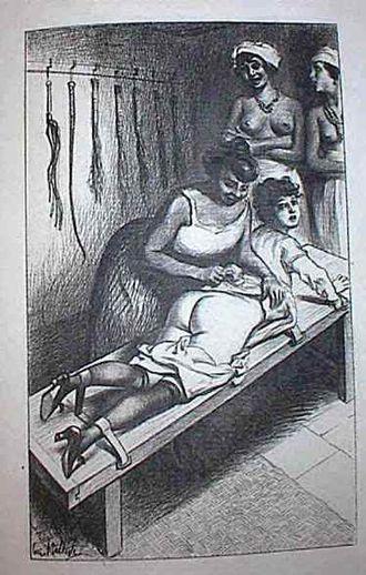 Sadism and masochism in fiction - Dolly Morton Illustration