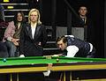 Dominic Dale and Maike Kesseler at Snooker German Masters (DerHexer) 2013-01-30 04.jpg