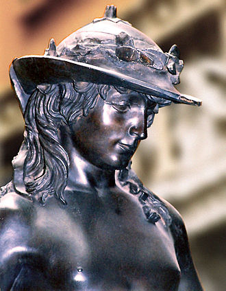 Donatello - Donatello David head and shoulders front right