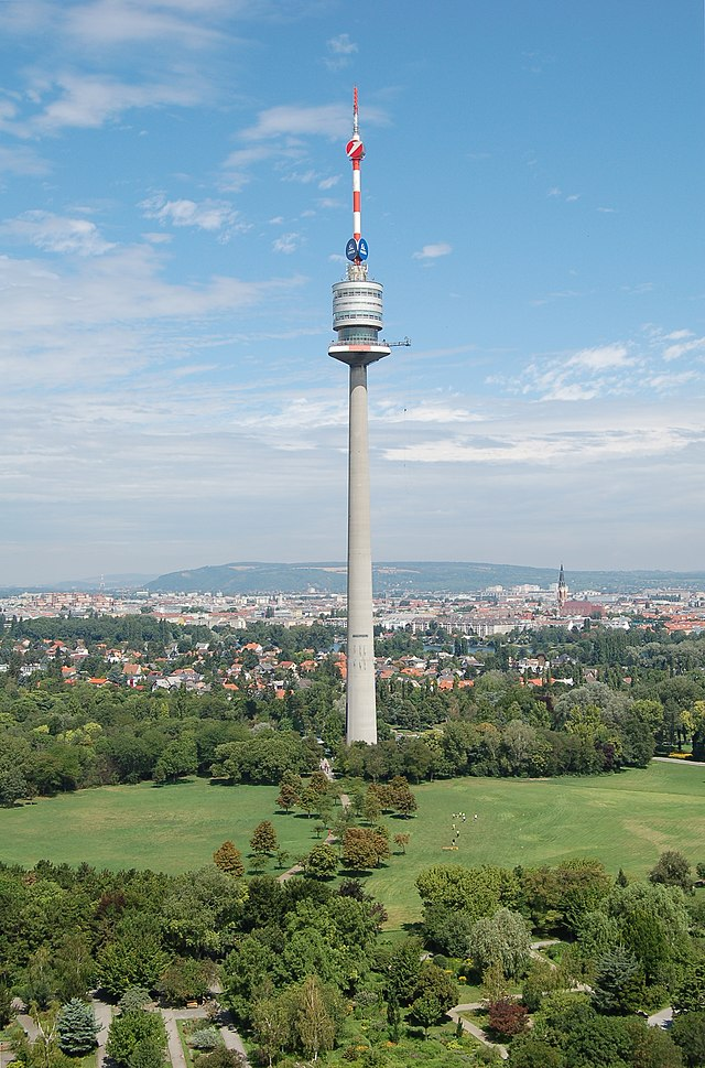 Donauturm Sight In Vienna Austria Travel Guide Tripwolf