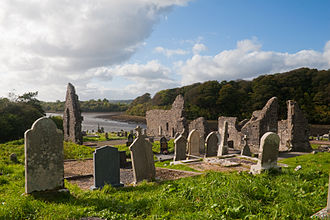 Donegal - Donegal Abbey.