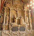 Doppelepitaph Graf Emich XII. und Maria Elisabeth von Pfalz-Zweibrücken in der Schlosskirche - panoramio.jpg
