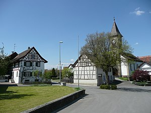 Buch, Schaffhausen - Village center