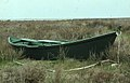 Double-prowed boat for eel fishing Camargue 1964 (38312559031).jpg