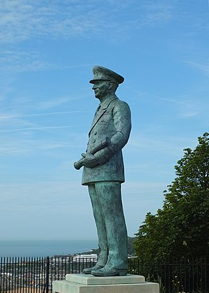 Bertram Ramsay - Statue of Ramsay in the grounds of Dover Castle