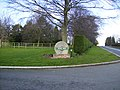 Driveway entrance to Heaton House - geograph.org.uk - 355885.jpg