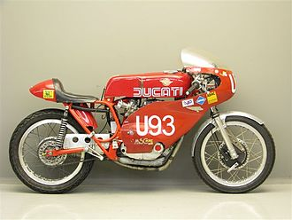 Ducati Motor Holding S.p.A. - A Ducati racing motorcycle from 1968