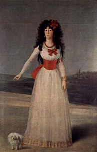 Duchess of Alba or The White Duchess by Goya.jpg