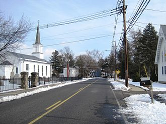 West Windsor Township, New Jersey - Dutch Neck neighborhood