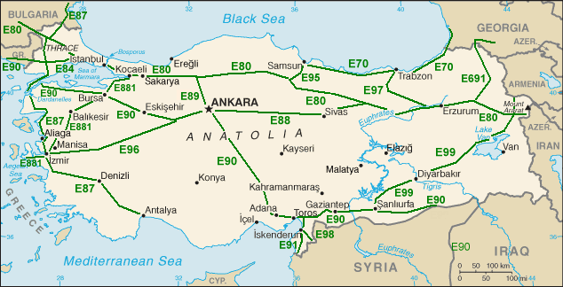 E-roads-Turkey
