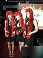 E3 2010 Nexon booth Vindictus spirit hood booth babes.jpg