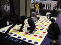 E3 2011 - IndieCade Twister race (5831107414).jpg