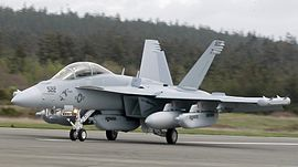 EA-18G at Whidbey April 2007.jpg