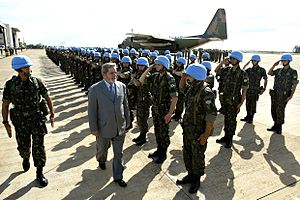 United Nations Security Council Resolution 940 - Peacekeepers in Haiti