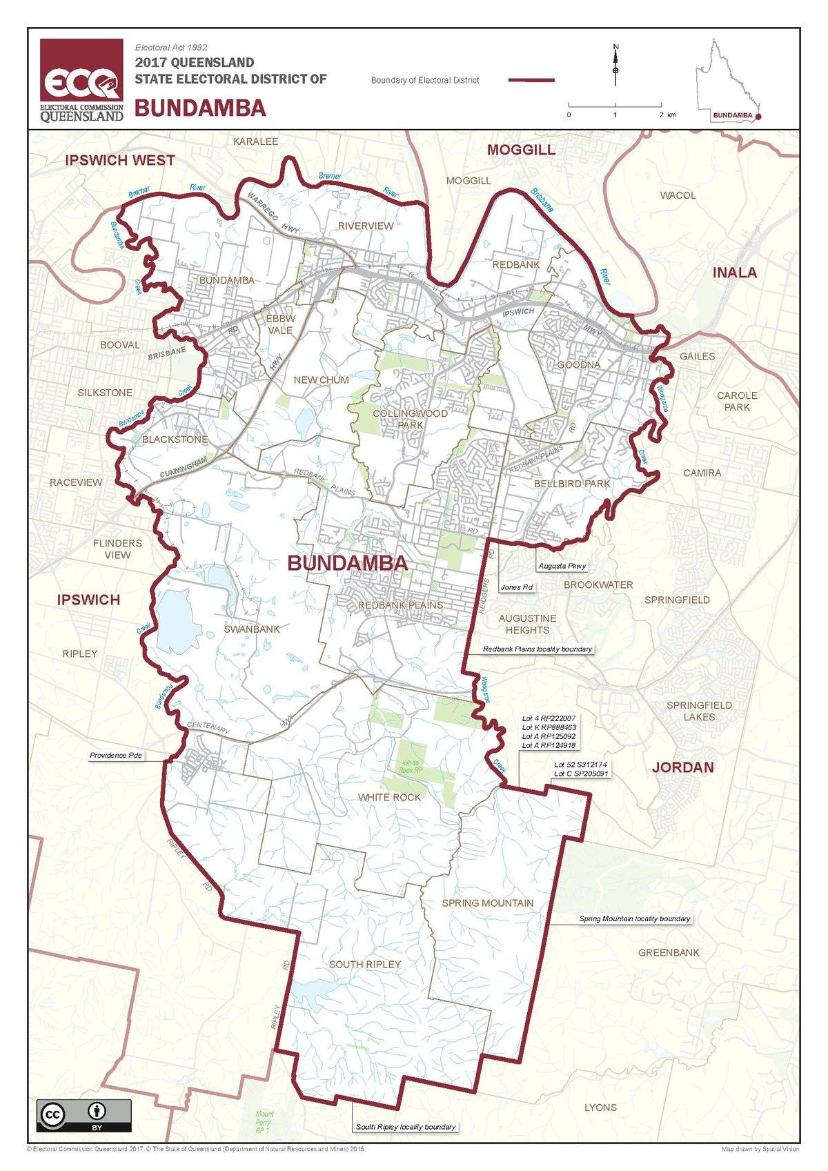 Electoral district of Bundamba - Wikipedia