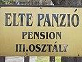 ELTE panzió, tábla,2018 Visegrád.jpg
