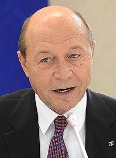 Traian Băsescu Romanian politician, 4th President of Romania
