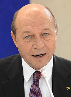 Traian Băsescu Romanian politician, 4th president of Romania