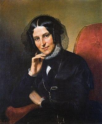 Ernesta Legnani Bisi - Portrait of Ernesta Legnani Bisi by Eliseo Sala, private collection, 1843