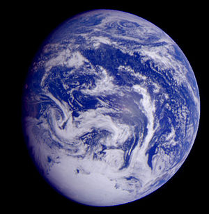 Image of Earth from Galileo spacecraft