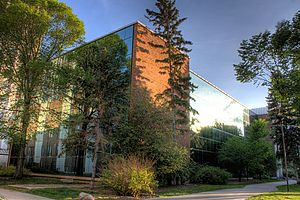 Faculties and departments of the University of Alberta - The Earth Sciences building