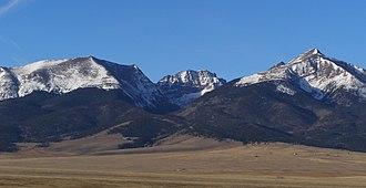 Huerfano County, Colorado - Eastern Sangre de Cristo Range, Huerfano County