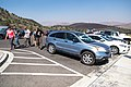 Eclipse weekend in Craters of the Moon - Inferno Cone parking area (36928791801) (2).jpg