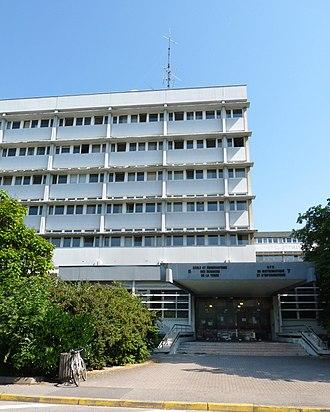 Ecole et Observatoire des Sciences de la Terre - Main building of the EOST and the IPGS