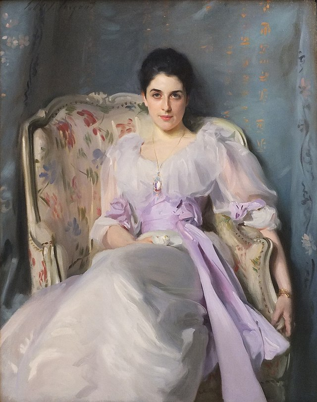 From commons.wikimedia.org: Edinburgh NGS Singer Sargent Lady Agnew {MID-226044}