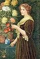 Edith Martineau - Kvinna med blommor.jpg