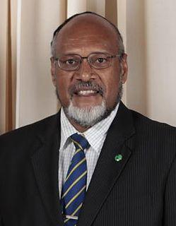 Edward Natapei Prime Minister of Vanuatu