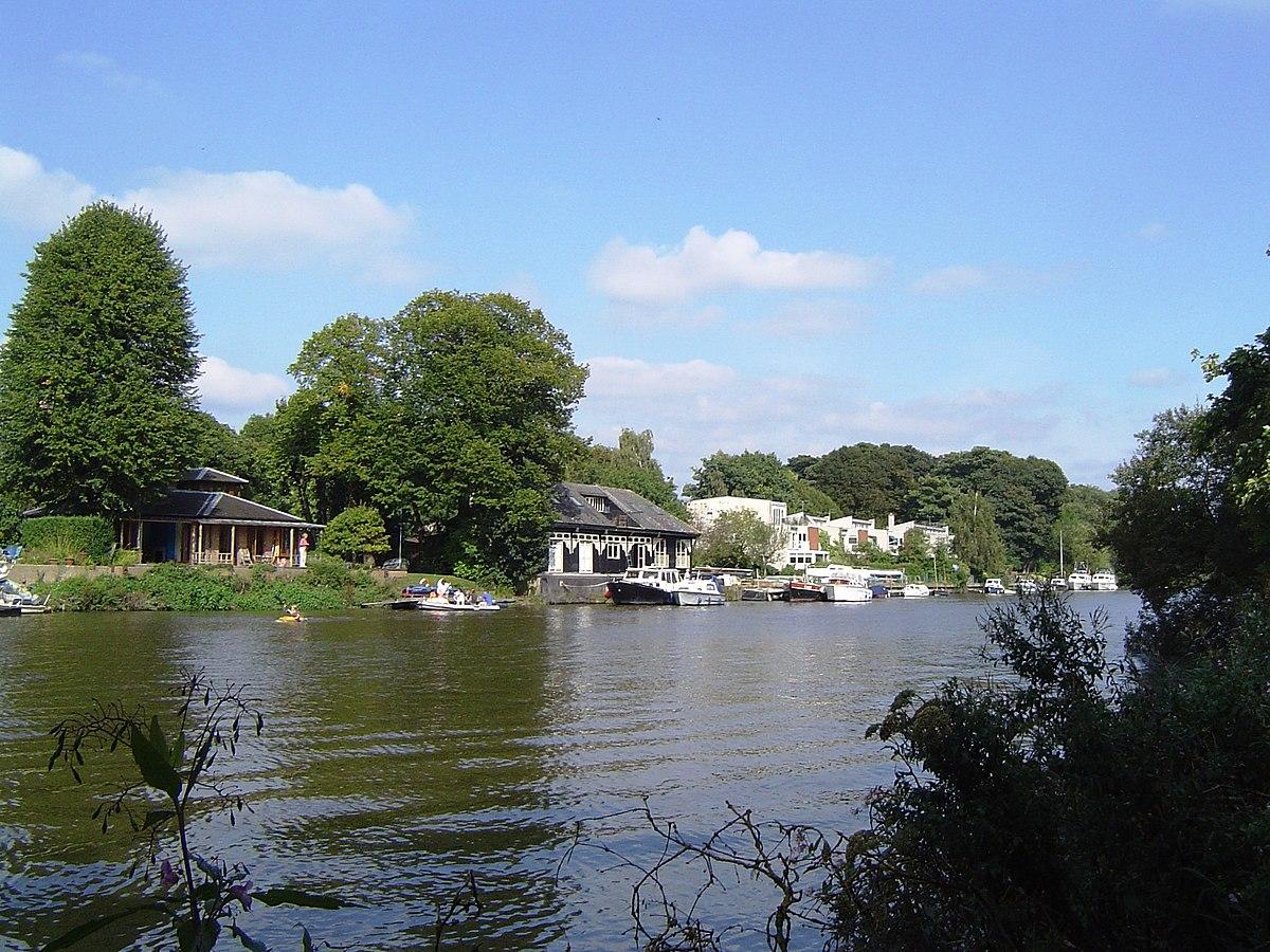 Eel Pie Island River