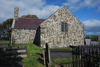 St Baglan's Church, Llanfaglan - St Baglan's from the west