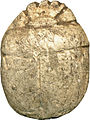 Egyptian - Scarab with the Name of Queen Tiye - Walters 4213 - Back.jpg