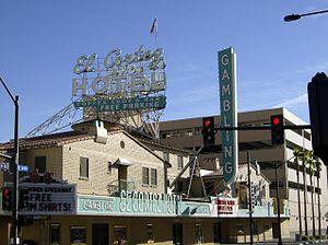 El Cortez (Las Vegas) - Image: El Cortez sign Las Vegas