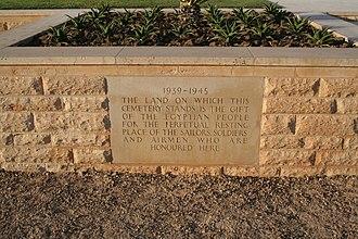 El Alamein - Image: El Alamein Commonwealth Cemetery 11