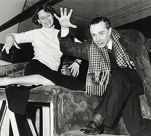 Alexander Sakharoff - Elena Zareschi and Alexander Sakharoff rehearsing Hamlet in the 1950s