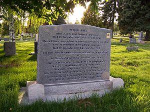 Elijah Abel - Image: Elijah Abel Grave Front