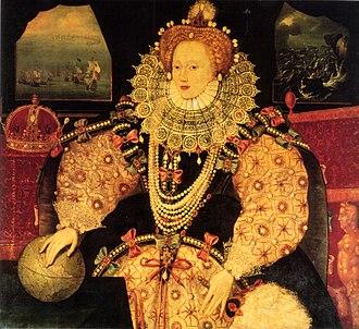 Elizabethan literature - Elizabeth I Armada Portrait British School
